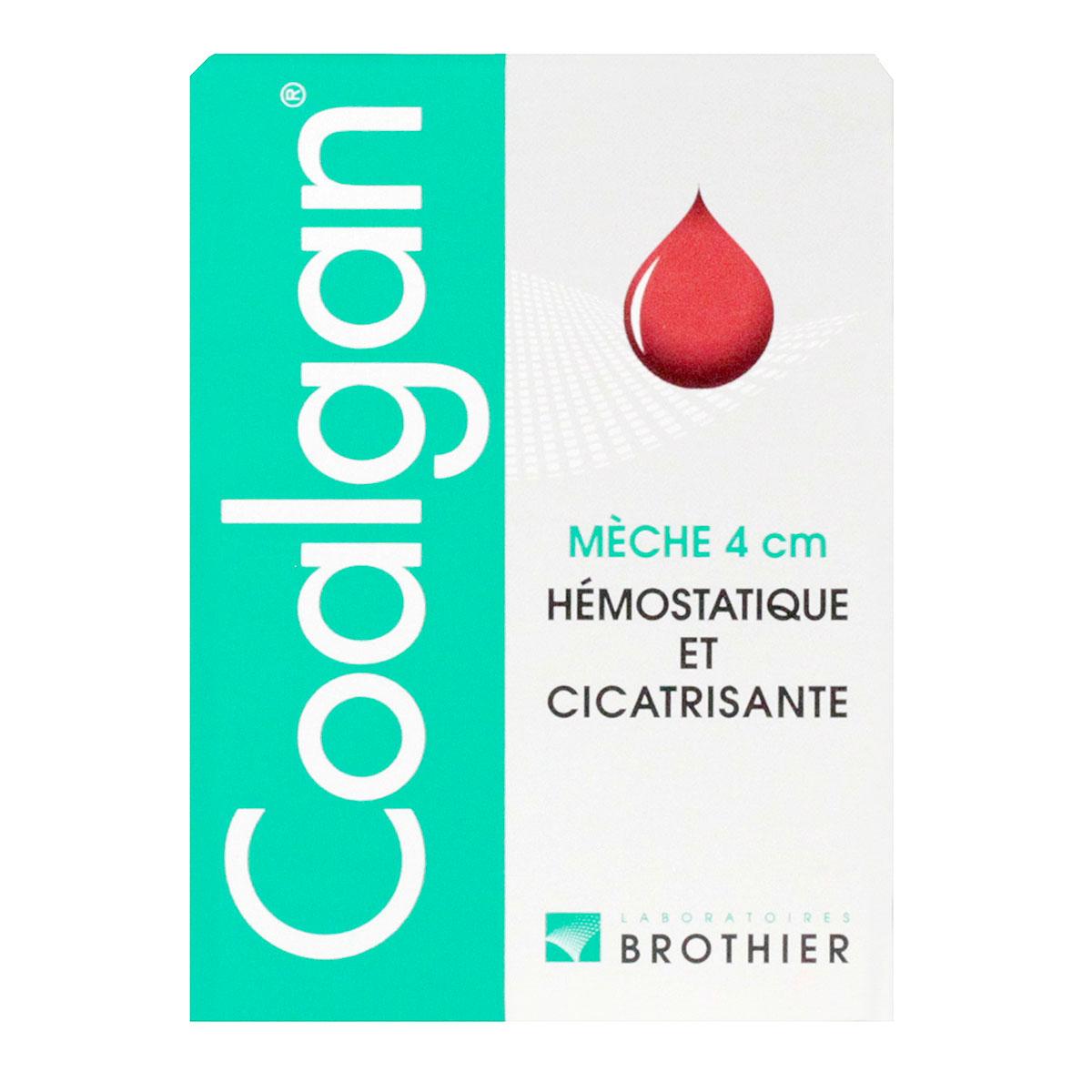Coalgan 5 mèches stériles saignements