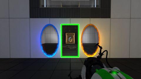 Velká modifikace pro Portal 2 přidává třetí portál. Do hry přináší cestování časem