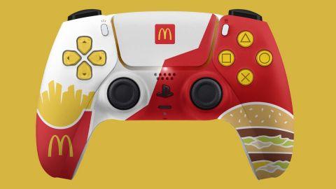 Australský McDonald's chtěl rozdávat tematické ovladače PS5, zapomněl to však oznámit Sony. Šlo o chybu