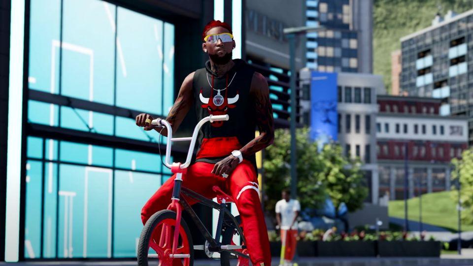 NBA 2K22 představuje sociální prostor City. Se svým basketbalistou budete třeba nahrávat hudbu
