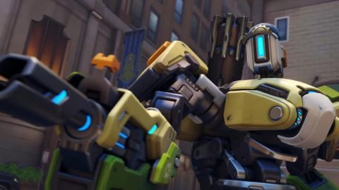 Overwatch 2 změní vzhled i schopnosti Bastiona. Svůj arzenál vystřídá i Sombra