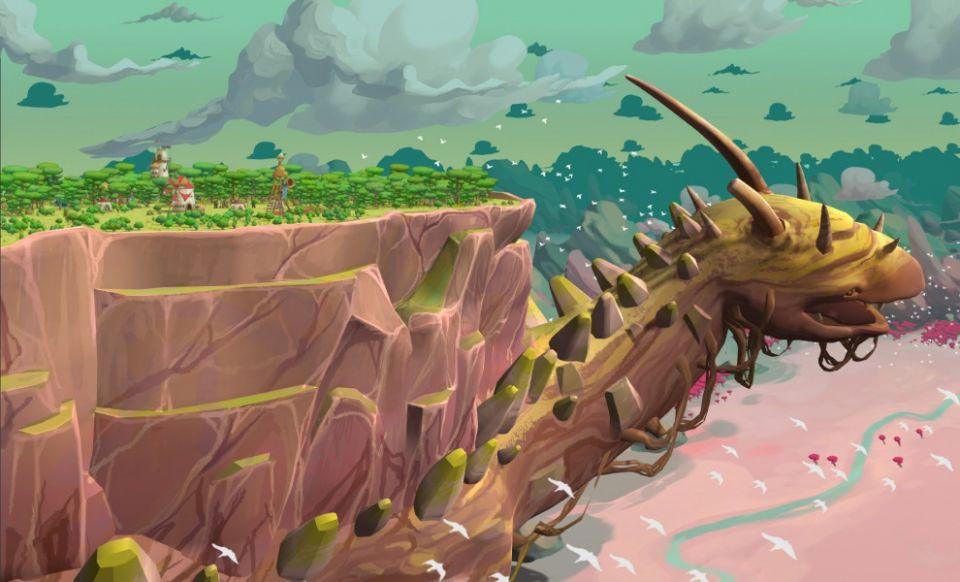 Postavte si vesničku na krunýři želvy