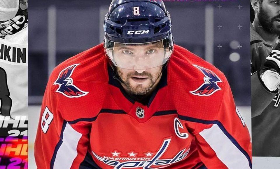 NHL 21 odhaluje Ovečkinův rating