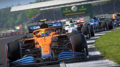 Videa z F1 2021 porovnávají verze pro konzole minulé a současné generace a PC