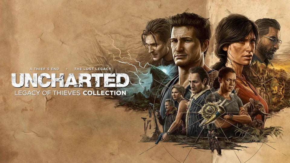 Uncharted 4 a Lost Legacy míří v remasteru na PC a PS5