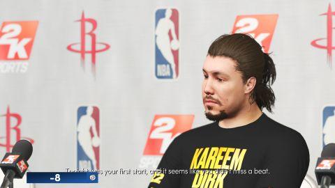 Tvorba obličejů vytvořených basketbalistů na základě fotek hráče má stále mezery