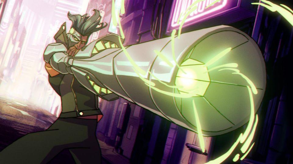 Captain Laserhawk: A Blood Dragon Remix