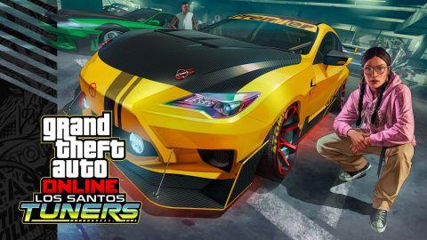Do GTA Online zamířila aktualizace Los Santos Tuners. Zaměřuje se na auta a jejich vylepšování