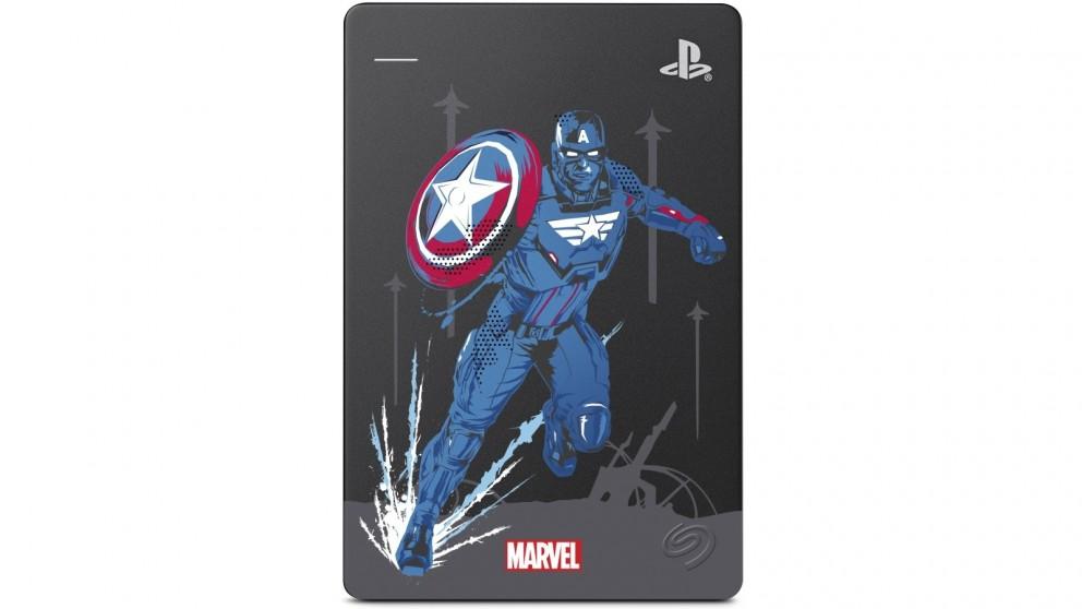 Seagate Game Drive PS4 2TB Captain America