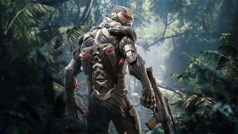 Ukázka porovnává remasterovanou trilogii Crysis pro PS5 s původními verzemi pro PS3
