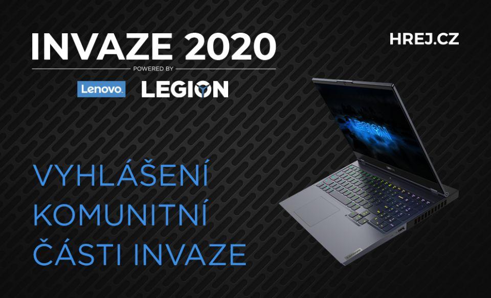 INVAZE 2020 - vyhlášení komunitní části