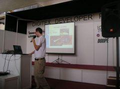 Invex 2006: Digitex Developer Point – vývojáři se předvádějí