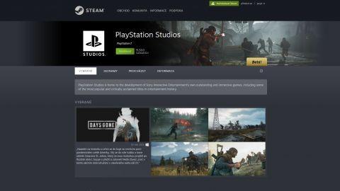PlayStation Studios si otevírá svoji stránku na Steamu. Její obsah naznačuje příchod dalších her