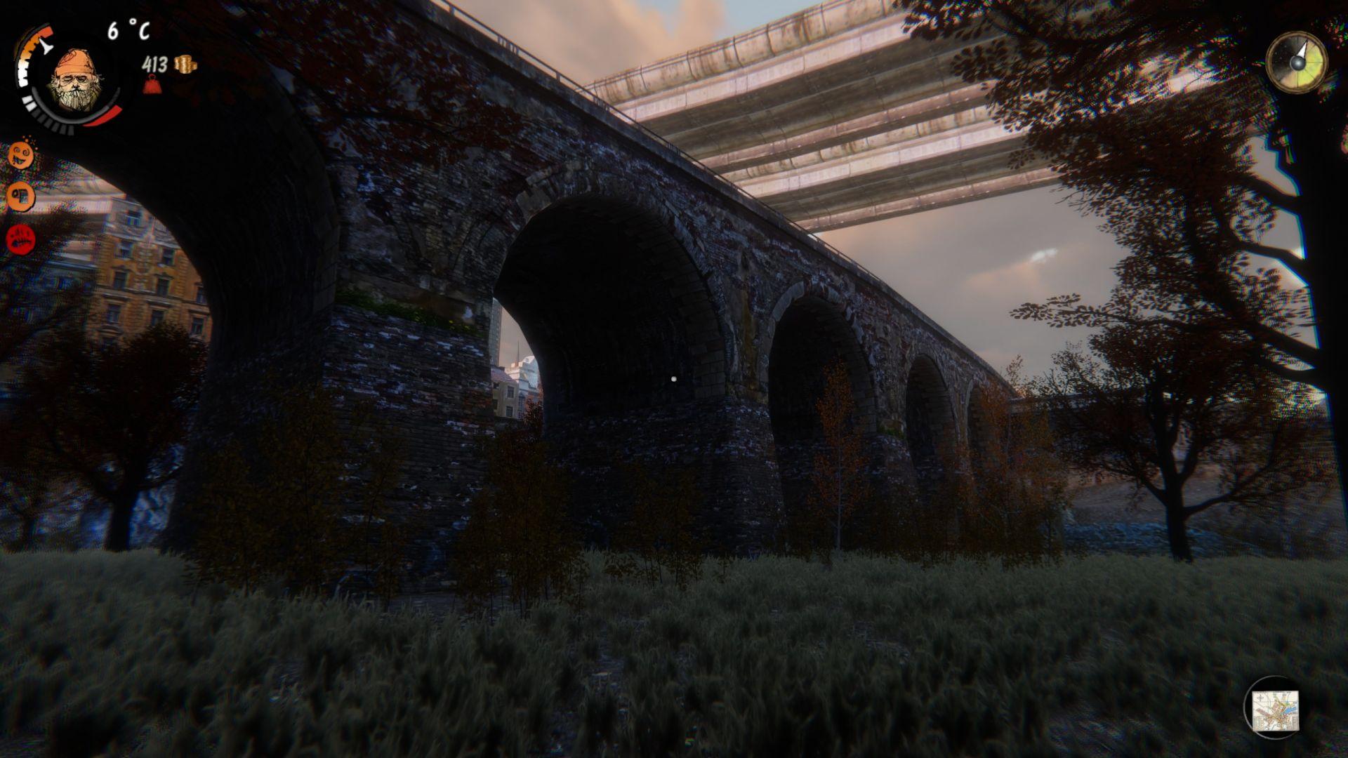 No uznejte - pod tak majestátním mostem by byla škoda nebydlet!