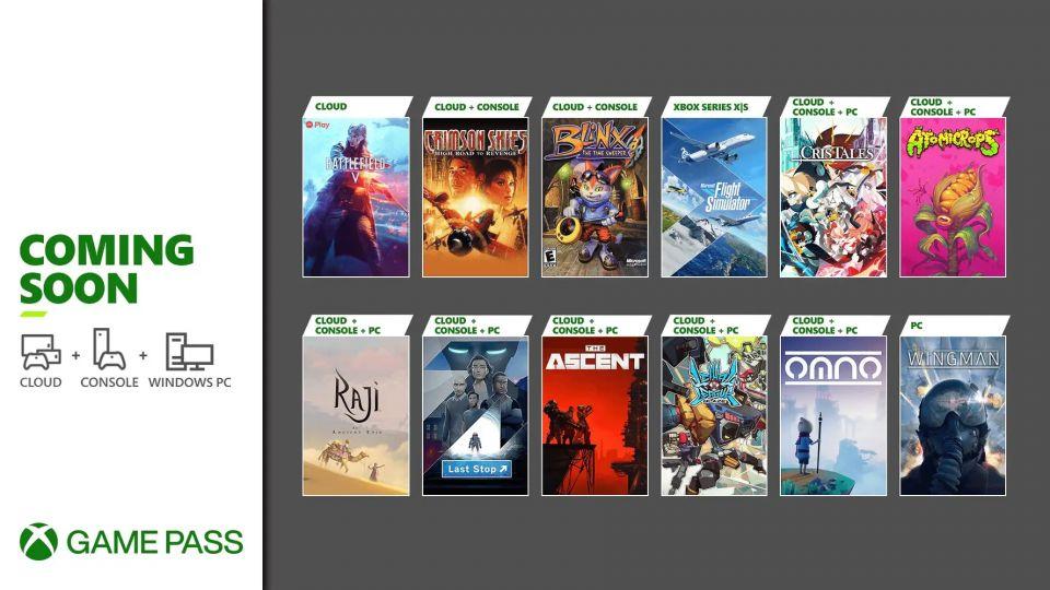 Microsoft představil novinky v Game Passu. V nabídce přistane Flight Simulator i nová kooperační střílečka