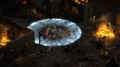 Barbar předvádí své válečnické dovednosti v ukázce z Diablo 2: Resurrected