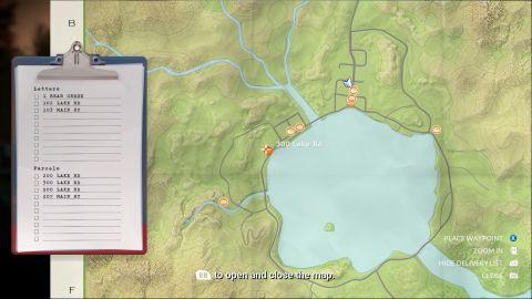 Plná mapa je vzhledem k velikosti ostrova a užitečné minimapě v levém dolním rohu poměrně zbytečná
