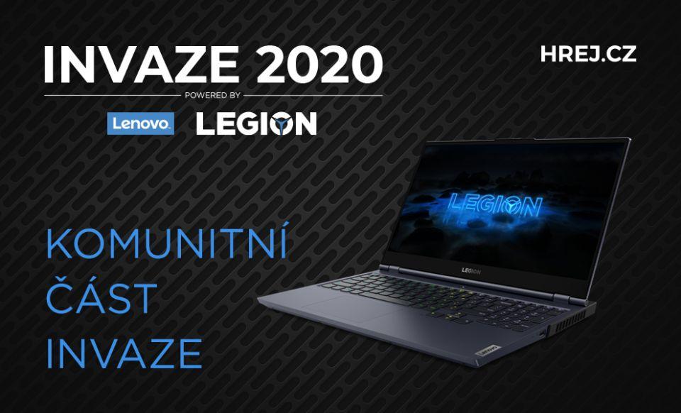 INVAZE 2020 - Komunitní část