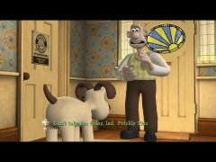 Wallace and Gromit in The Bogey Man