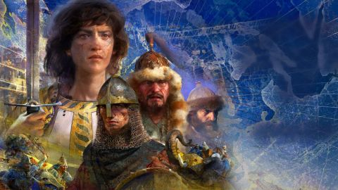 Age of Empires IV předvádí bitvu mezi Číňany a Francouzi