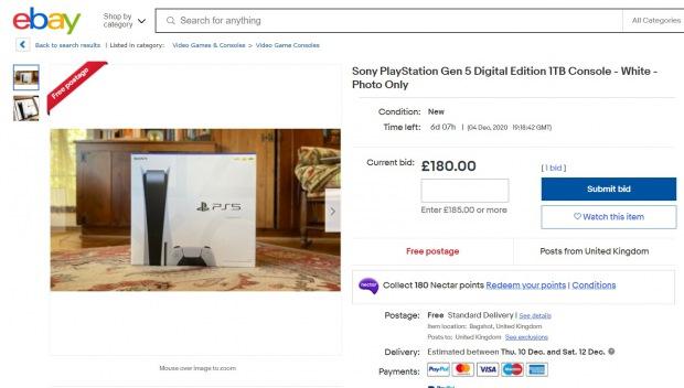 Podvodníci prodávají fotky PlayStation 5