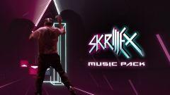 Elektronická ikona Skrillex obohacuje skrze balíček hudby nabídku PS4 verze Beat Saber