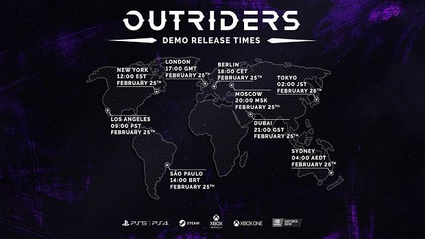 Demo Outriders bude špuštěno příští čtvrtek