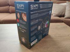 Na balení samozřejmě nesmí chybět obligátní zmínka o technologii SXFI