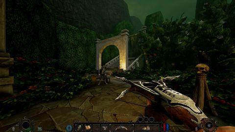 Poměrně barevná konečná lokace působí v kontextu celé hry skoro až dojmem rajské zahrady