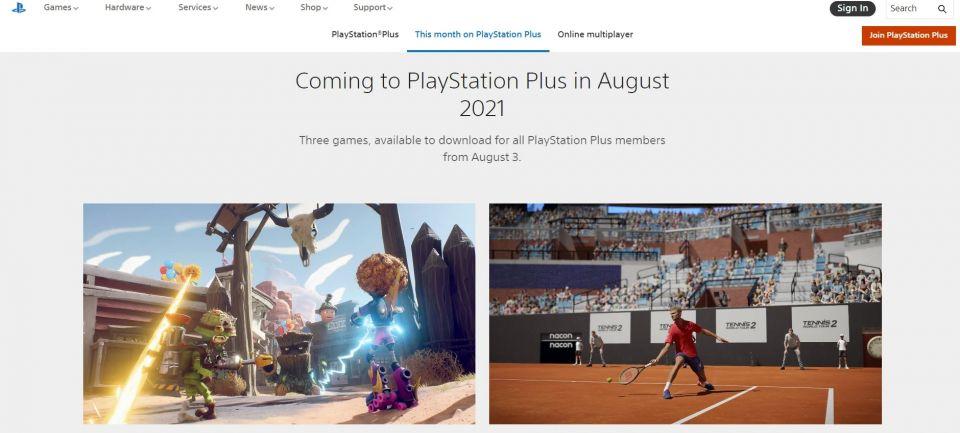 Předplatitelé PS Plus mohou v srpnu vyzkoušet tenis a boj mezi vegetací a zombie