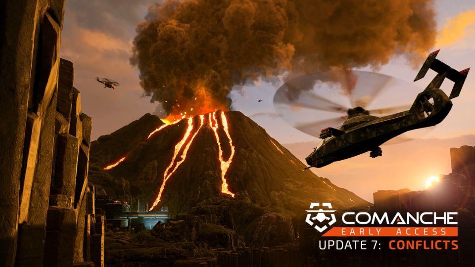 Čeští Ashborne Games ukazují první výsledky práce. Pro Comanche přinášejí singleplayerový režim