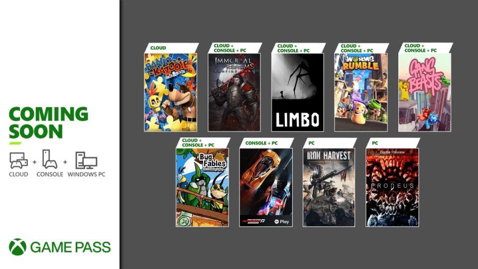 Microsoft představil novinky ve službě Xbox Game Pass