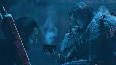 Ukázka představila šamanku, s níž se Jin Sakai potká na ostrově Iki Island