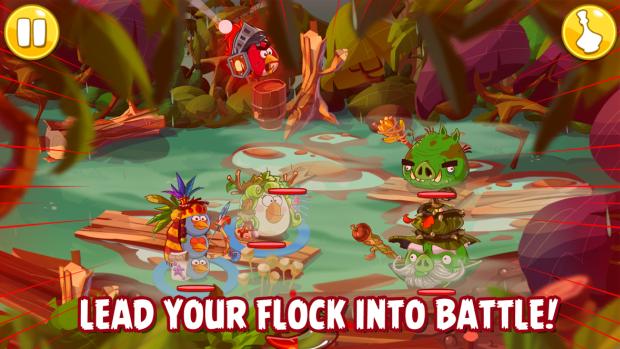 Rovio chystá tahové RPG Angry Birds