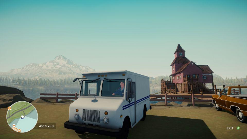 Pokud by reálná práce poštovního panáčka vypadala takhle, asi bychom ji chtěli dělat všichni...