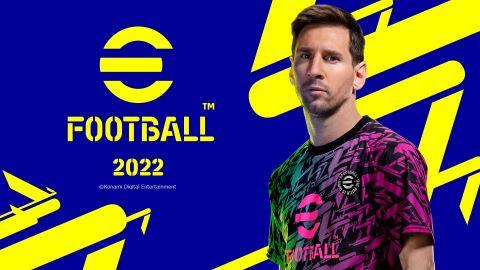 eFootball 2022 vyjde 30. září. K dispozici bude pouze devět klubů