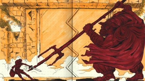 Nádherné, ručně kreslené neoficiální příručky klasických her nakonec nevzniknou. Nintendo je zatrhlo