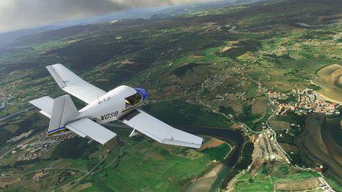 World Update zkrášlující střední Evropu dorazí do MS Flight Simulator s dvoutýdenním zpožděním