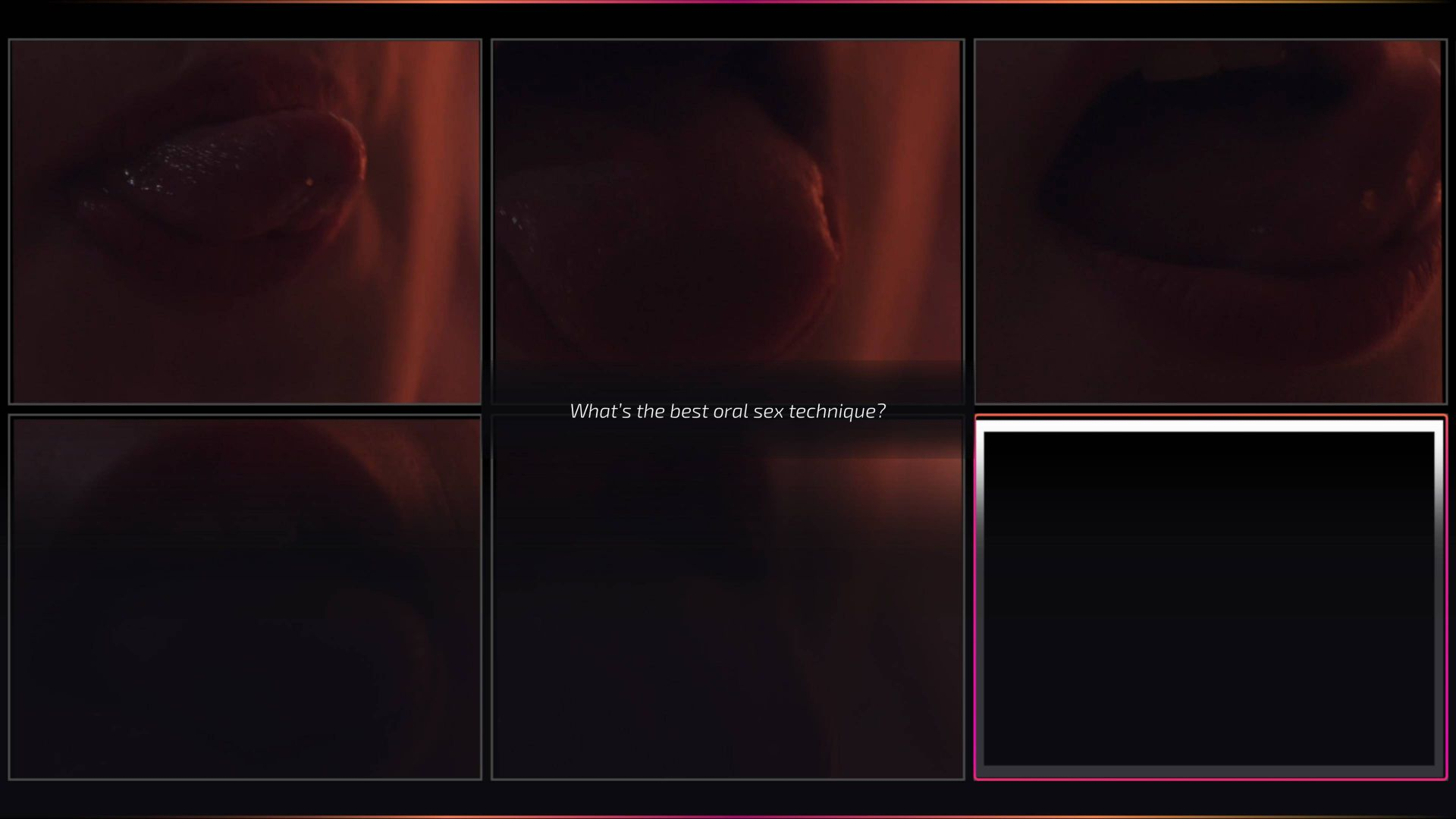 Super Seducer 3 vždy dovede překvapit záběrem, který je ještě divnější než ty ostatní...