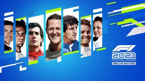 Do svého týmu v F1 2021 můžete naverbovat i legendy včetně Schumachera, Senny nebo Prosta