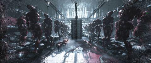 "Recenze Necromunda: Hired Gun, temné ""levné"" variace Dooma ze světa Warhammer 40K"