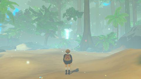Již první kroky po pláži napoví, že vás čeká vskutku magický zážitek