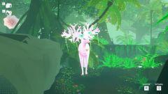 3D modely hlavních bytostí jsou podstatně zajímavější než okolní kytičky a motýle...