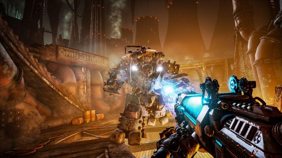 Necromunda: Hired Gun ukazuje úpravu zbraní i psa. Akční hratelnost okoření vystřelovací hák