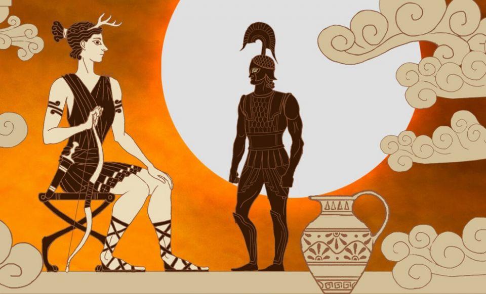 Troy přívítá fotomód a bohyni lovu Artemis