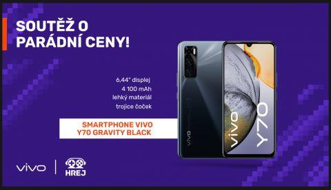 Vyhlášení vítěze soutěže o smartphone VIVO Y70