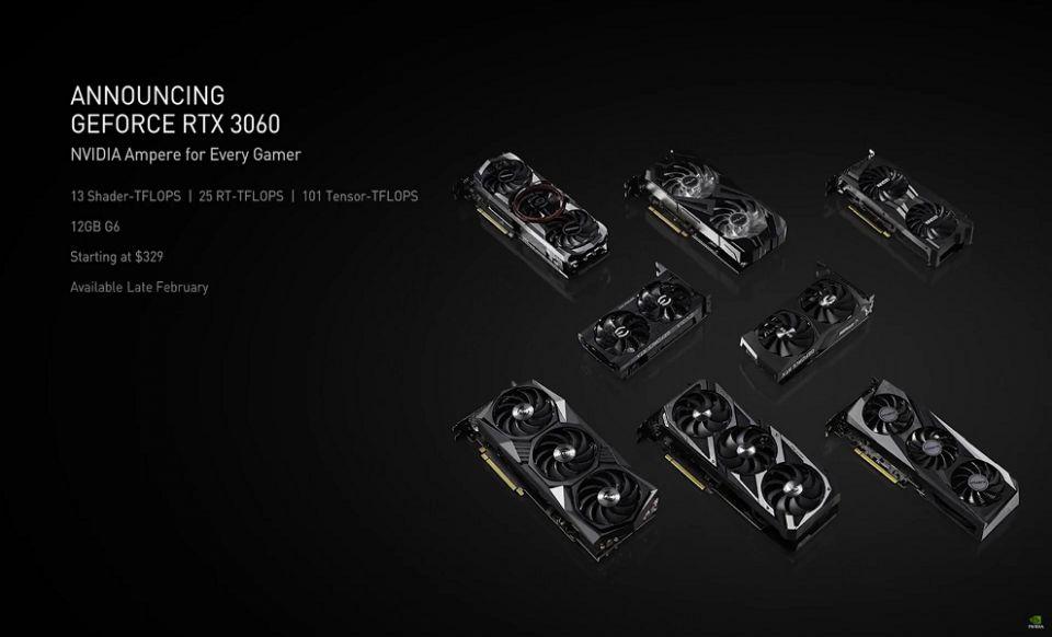 RTX 3060 odhalena, stojí necelých 9 tisíc
