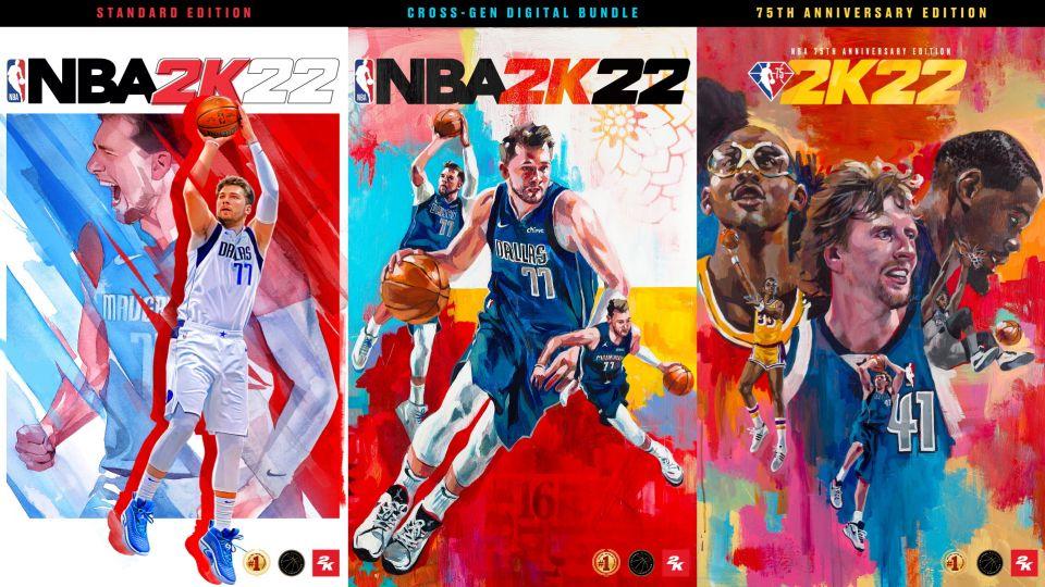 Virtuální basketbal se vrací, NBA 2K22 oficiálně odhaleno. Vyjde v září, na obalu září Luka Dončić