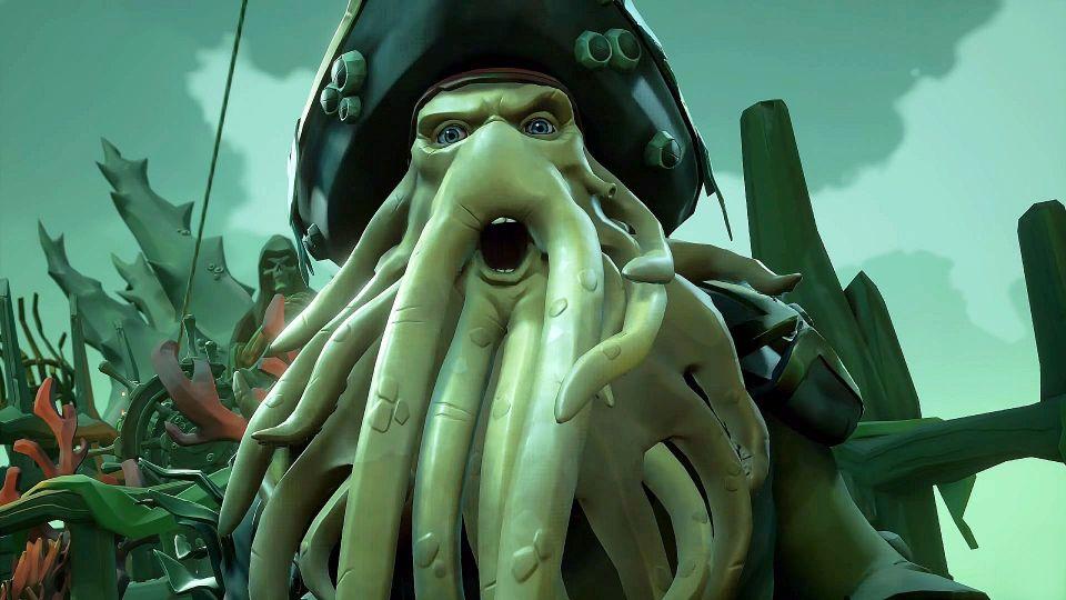 Trailer k Sea of Thieves přináší gameplay záběry z crossoveru s Piráty z Karibiku