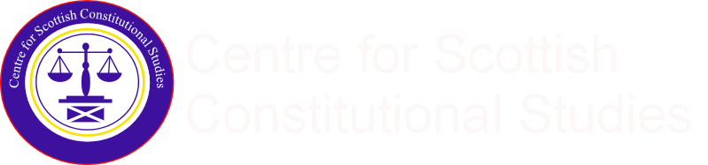 Centre for Scottish Constitutional Studies